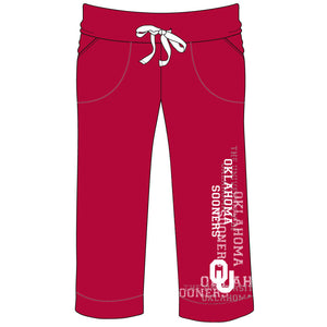 Oklahoma Sooners Flocked Pant