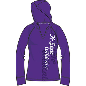 Kansas State Wildcats Lightweight Heather Hoodie