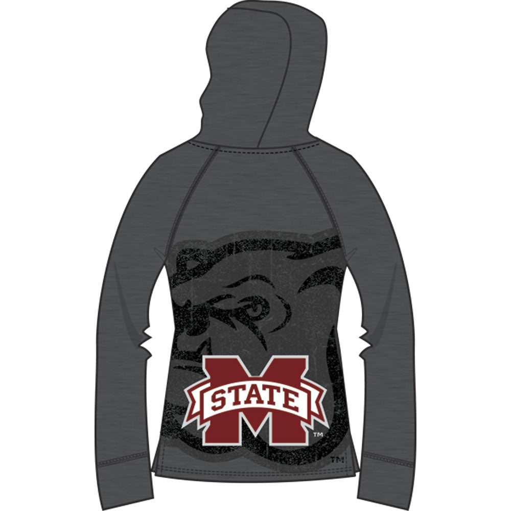 Mississippi State  Bulldogs Lightweight Heather Hoodie