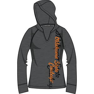 Oklahoma State Cowboys Lightweight Heather Hoodie