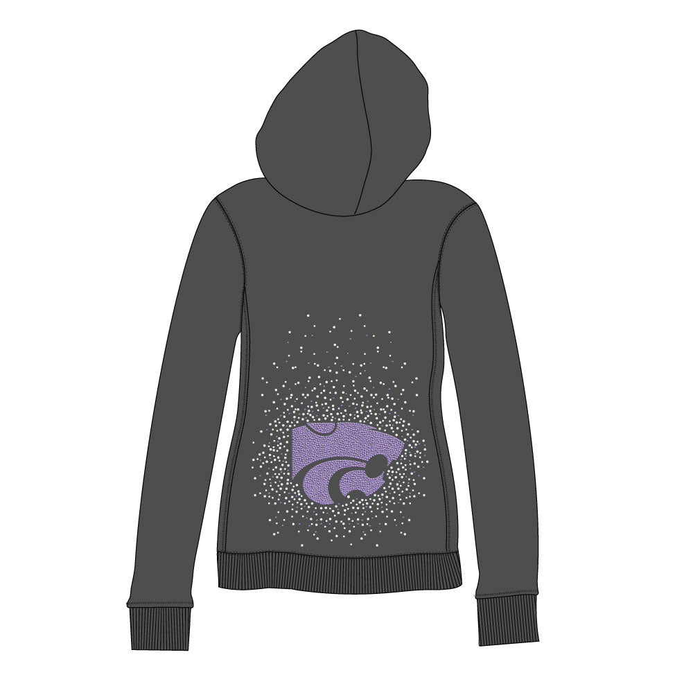 Kansas State Wildcats Couture Full Zip Hood