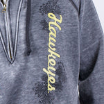 Load image into Gallery viewer, Iowa Hawkeyes Burnout Hoody