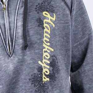 Iowa Hawkeyes Burnout Hoody