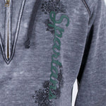 Load image into Gallery viewer, Michigan State Spartans Burnout Hoody