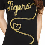 Load image into Gallery viewer, Missouri Tigers Metallic Script Top