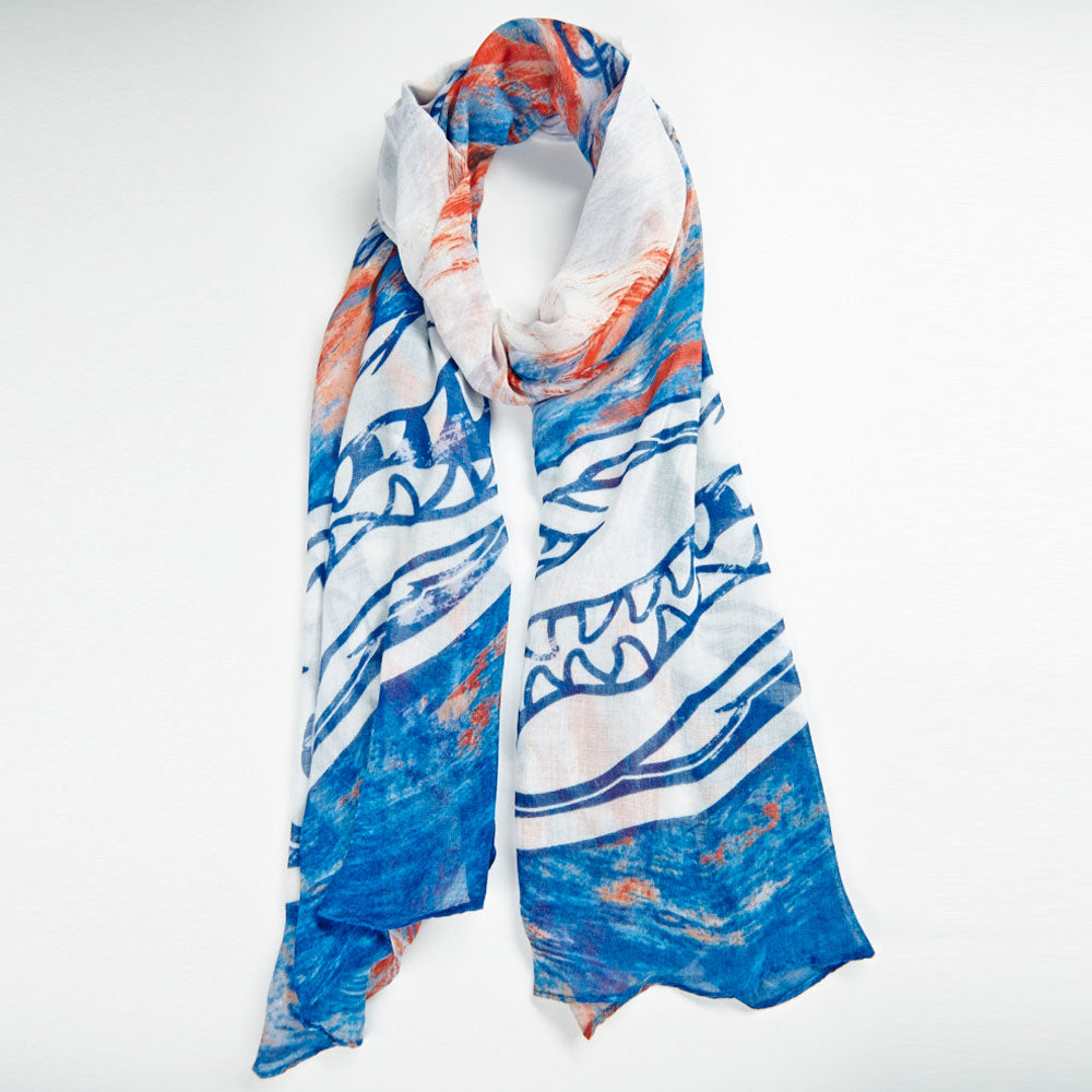 Florida Gators Watercolor Scarf
