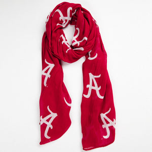 Alabama Crimson Tide Logo Scarf