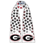 Load image into Gallery viewer, Georgia Bulldogs Animal Print Scarf