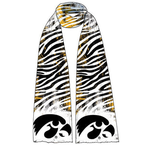 Iowa Hawkeyes Animal Print Scarf