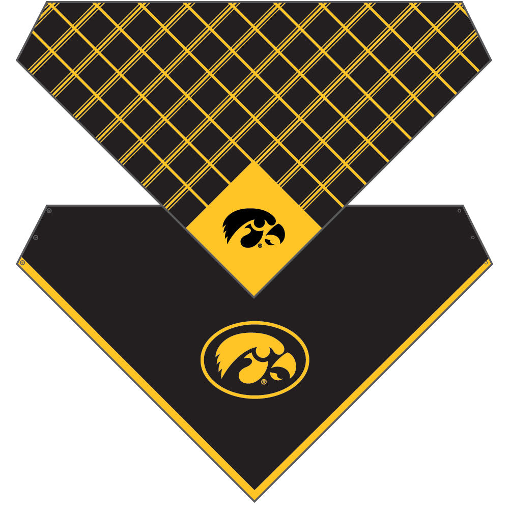 Iowa Hawkeyes Snap Scarf