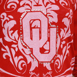 Load image into Gallery viewer, Oklahoma Sooners Long Sleeve Satin Trim Tunic