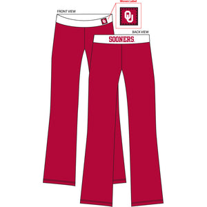 Oklahoma Sooners Fit Pant