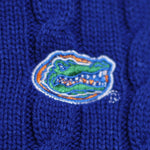 Load image into Gallery viewer, Florida Gators Zip Cable Cardigan
