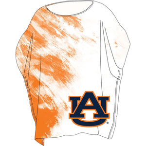 Auburn Tigers Sheer Tunic