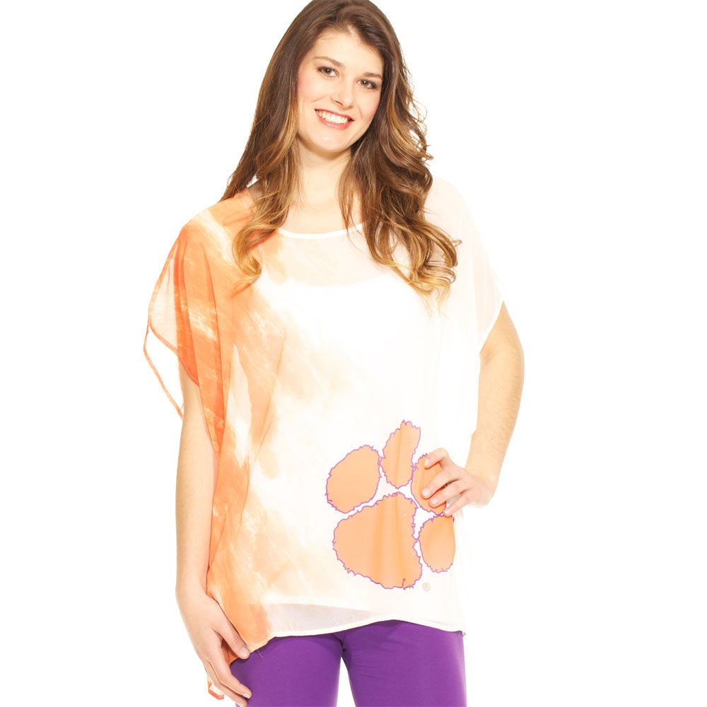 Clemson Tigers Sheer Tunic