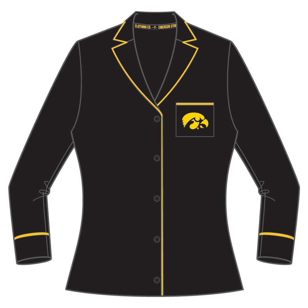 Iowa Hawkeyes Pajama Set