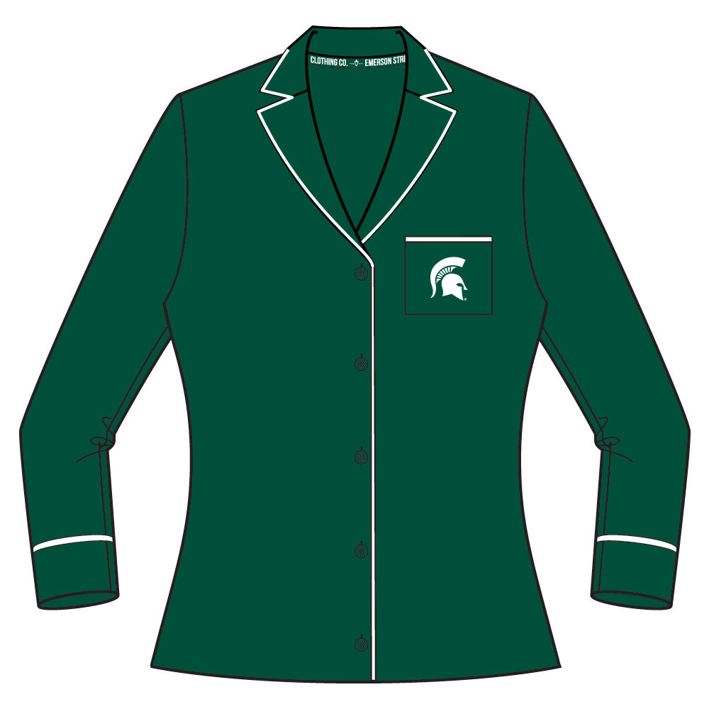 Michigan State Spartans Pajama Set