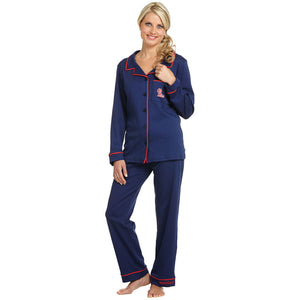 MISSISSIPPI REBELS PIMA COTTON PJ SET