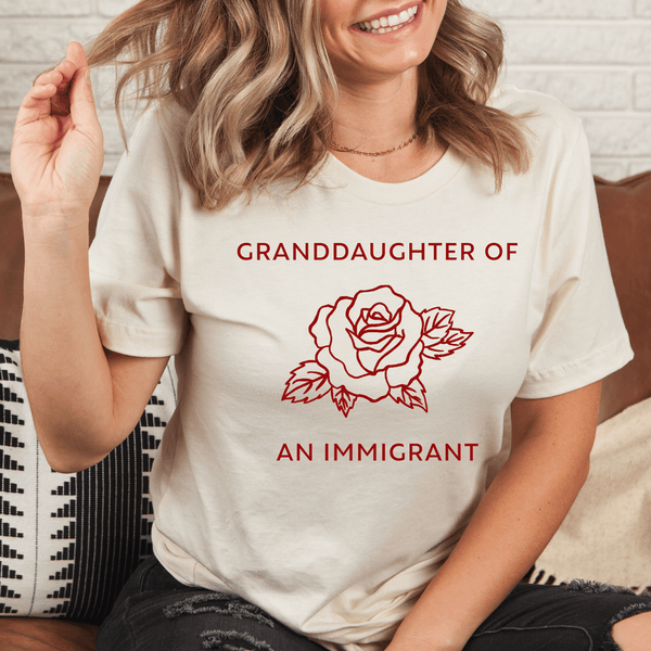 Granddaughter of an immigrant