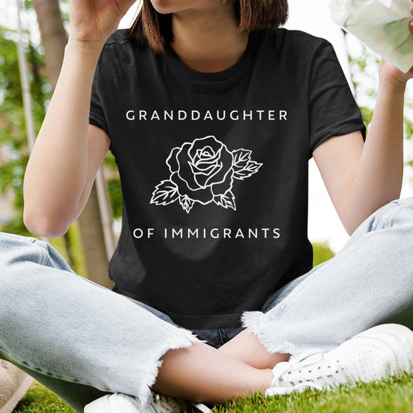Granddaughter of immigrants