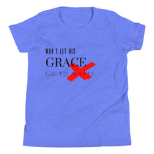 Load image into Gallery viewer, Won't Let His Grace Go To Waste Tee (Youth)