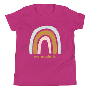 We Made It Rainbow Tee (Youth)