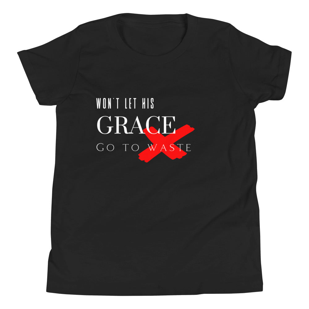 Won't Let His Grace Go To Waste Tee (Youth)