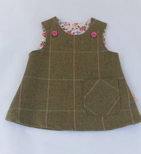 Girls Pinafore, 0-6 months