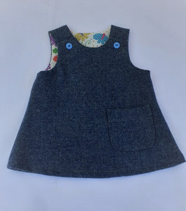 Girls Pinafore, 06-12 months