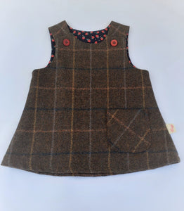 Girls Pinafore, 3-4 years
