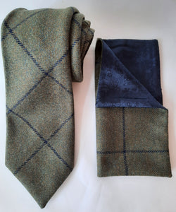 Tweed Tie & Pocket Square