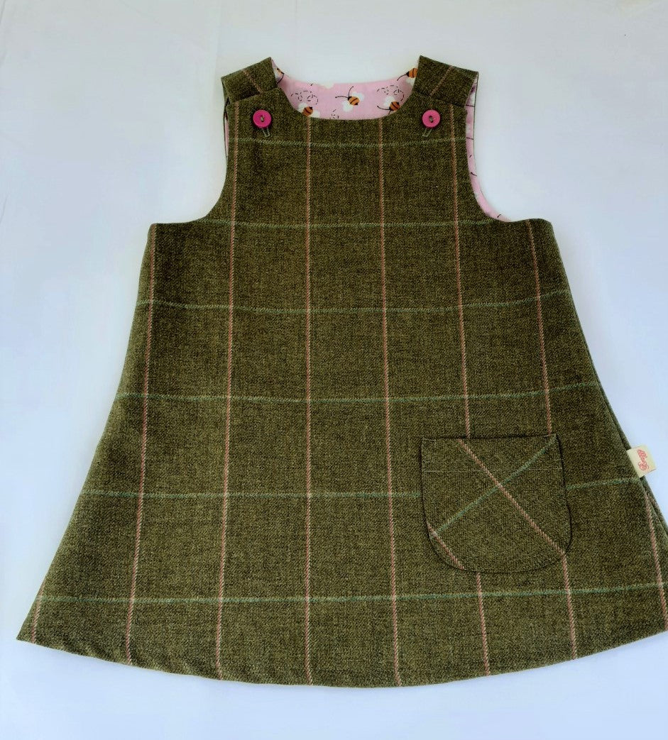 Girls Pinafore, 1-2 years