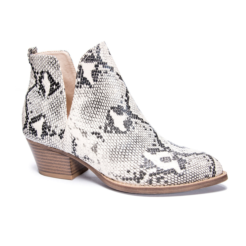 CL by Laundry Caring Snake Bootie