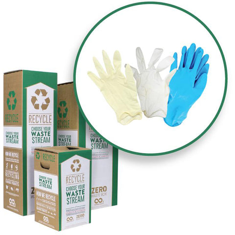 recycle rubber gloves