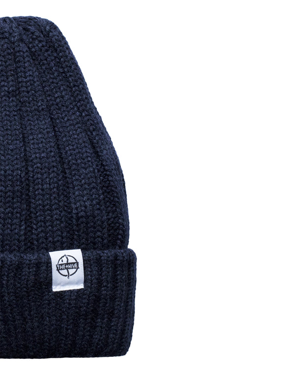 IRON BEANIE IN NAVY