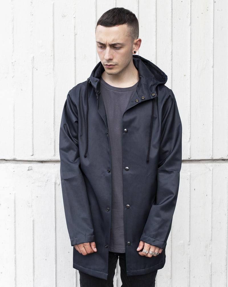 RAIN JACKET IN ANTRACIT