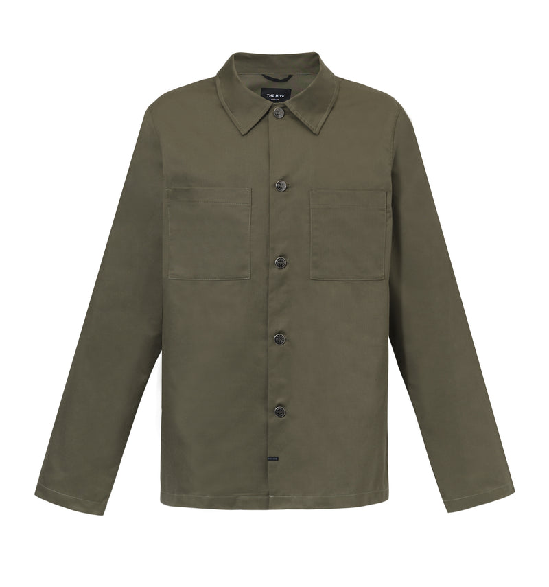 MILITARY OVERSHIRT JACKET
