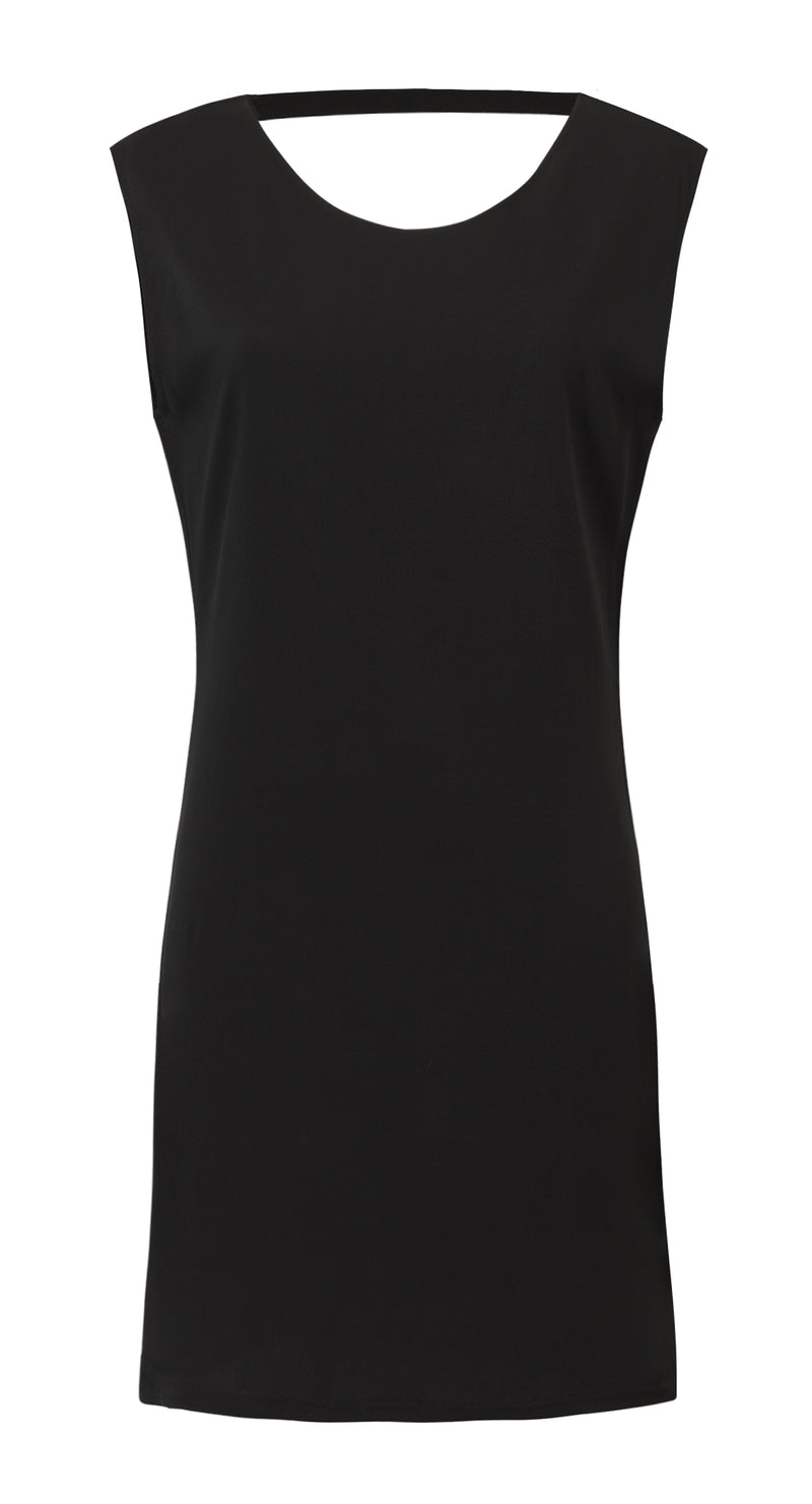 TORI DRESS IN BLACK
