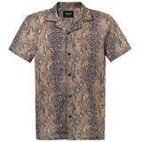 BROWN SNAKE SHIRT LIMITED