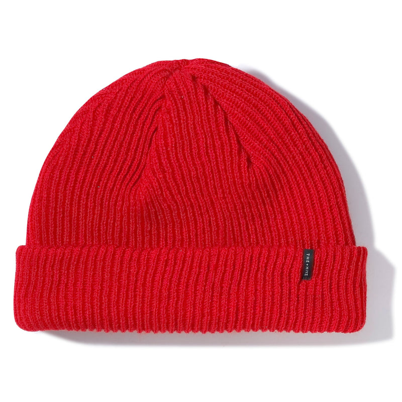 DOCKER SHORT BEANIE IN RED