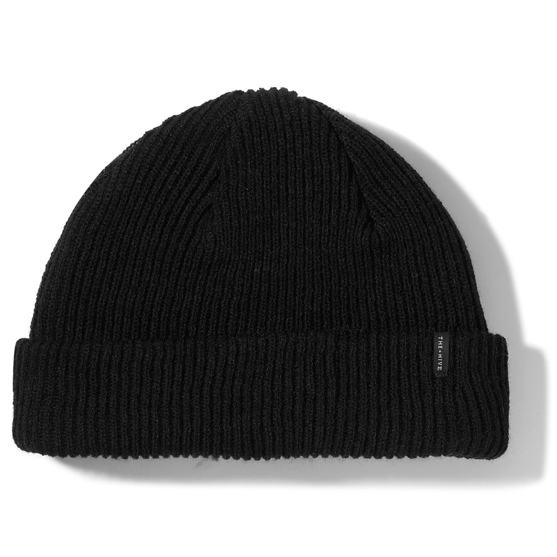 DOCKER SHORT BEANIE IN BLACK
