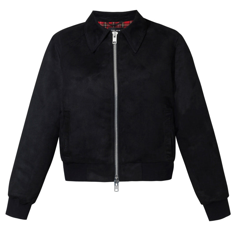 PATTY SUEDE JACKET