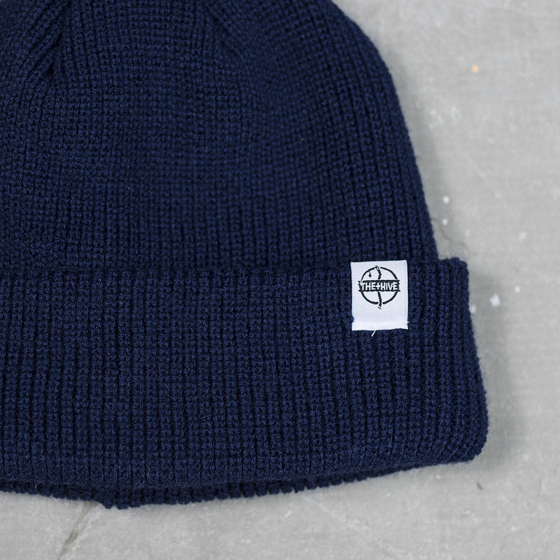 FISHERMAN BEANIE IN NAVY