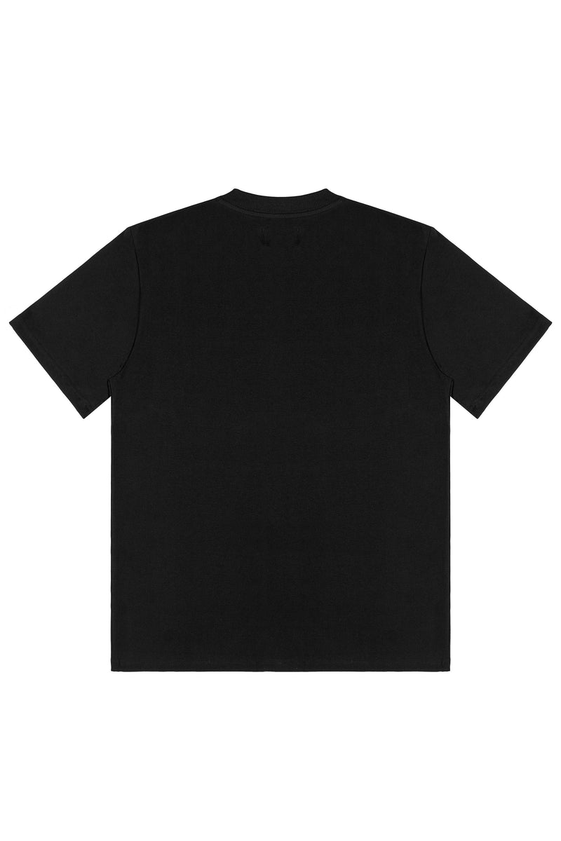 CRAFTED TEE IN BLACK