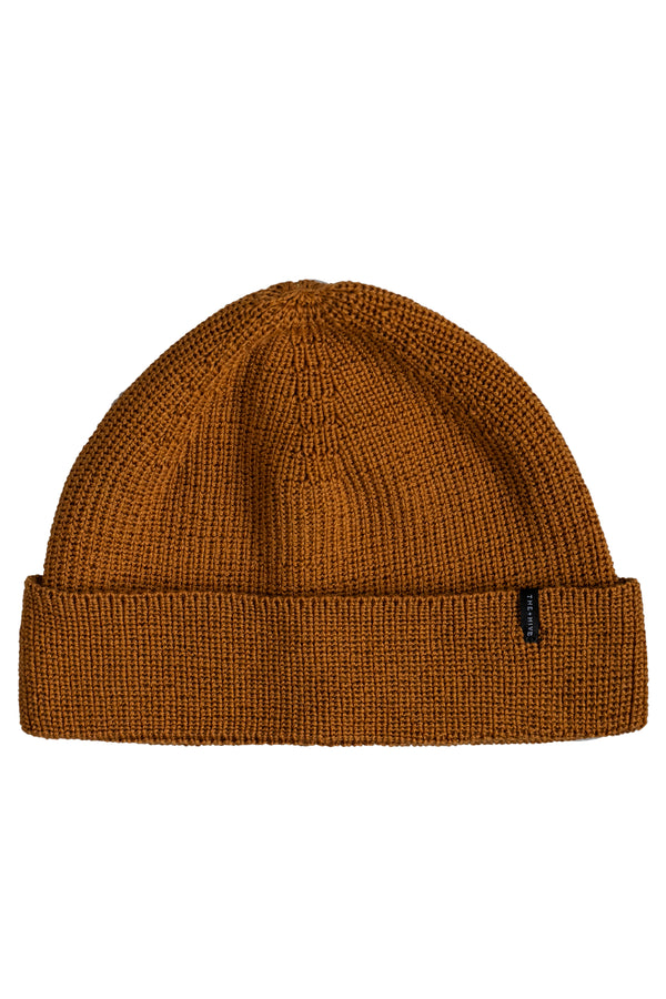 MERINO SINGLE BEANIE IN MUSTARD