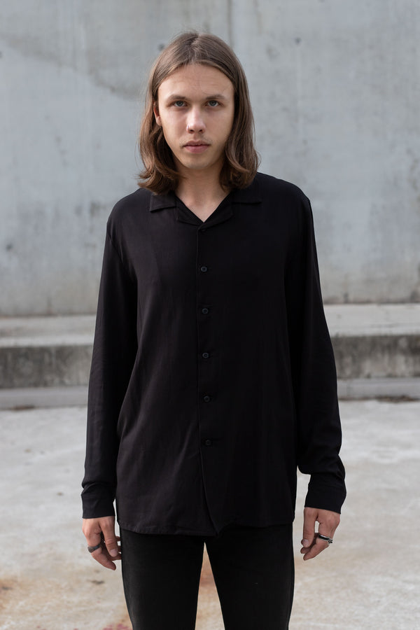 LONG NOIR SHIRT