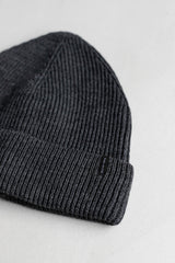 ECOWINTER BEANIE IN GRAPHITE