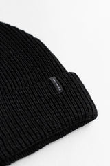 ECOWINTER BEANIE IN BLACK