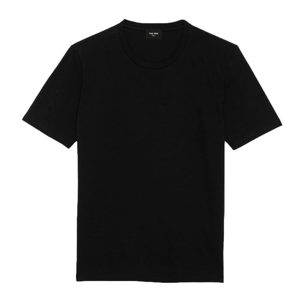BASIC TEE IN COOL BLACK