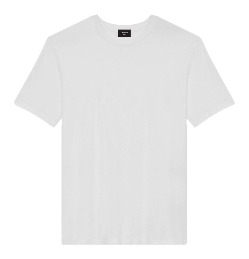 BASIC TEE IN COOL WHITE